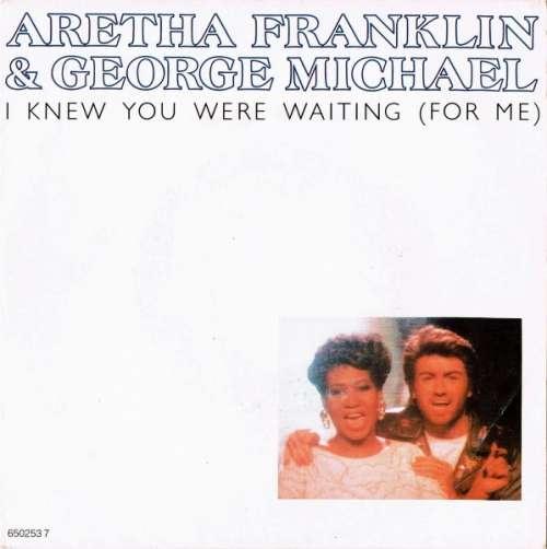 Bild Aretha Franklin & George Michael - I Knew You Were Waiting (For Me) (7, Single) Schallplatten Ankauf