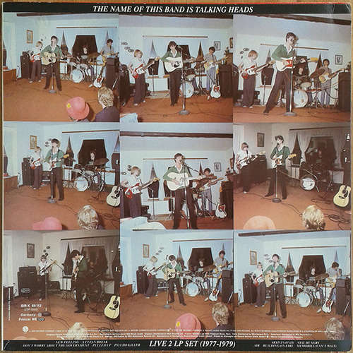 Cover Talking Heads - The Name Of This Band Is Talking Heads (2xLP, Album) Schallplatten Ankauf