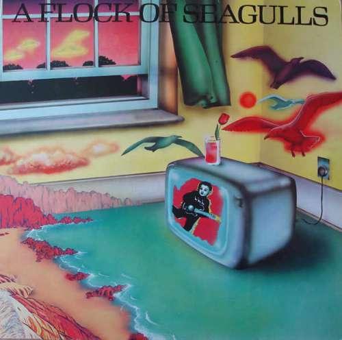 Cover zu A Flock Of Seagulls - A Flock Of Seagulls (LP, Album) Schallplatten Ankauf