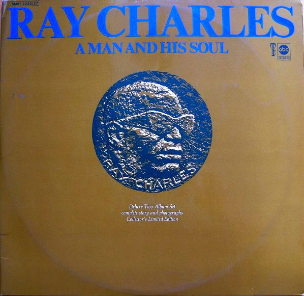 Cover Ray Charles - A Man And His Soul (2xLP, Comp, Gat) Schallplatten Ankauf