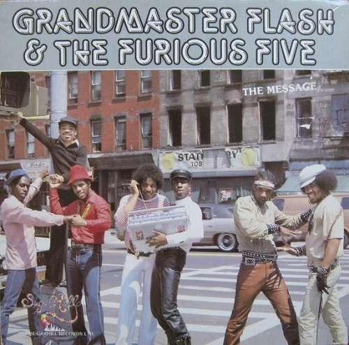 Cover Grandmaster Flash & The Furious Five - The Message (LP, Album) Schallplatten Ankauf