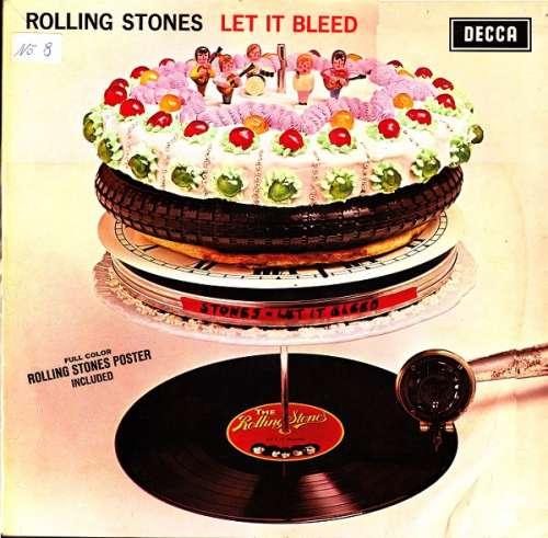 Cover The Rolling Stones - Let It Bleed (LP, Album) Schallplatten Ankauf