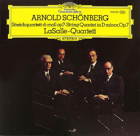 Bild Arnold Schönberg*, LaSalle-Quartett* - Streichquartett D-Moll Op.7 · String Quartet In D Minor, Op.7 (LP) Schallplatten Ankauf