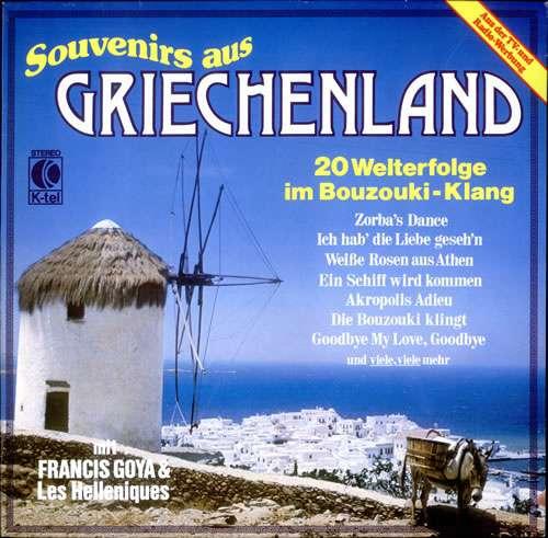 Cover Francis Goya & Les Helleniques* - Souvenirs Aus Griechenland (LP, Album) Schallplatten Ankauf