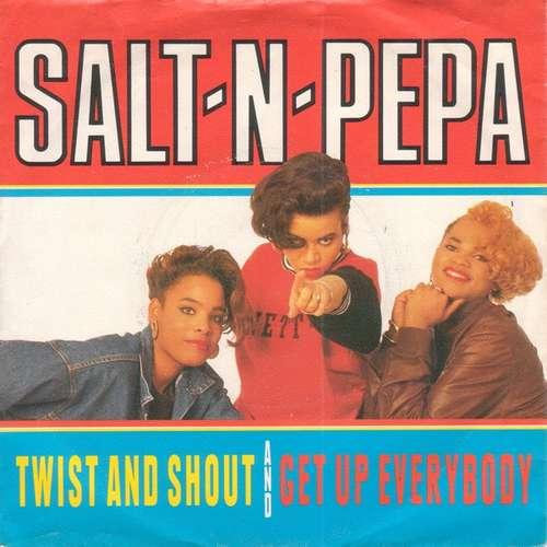 Bild Salt 'N' Pepa - Twist And Shout / Get Up Everybody (7, Single) Schallplatten Ankauf