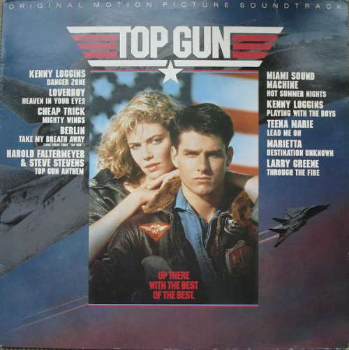 Cover Various - Top Gun (Original Motion Picture Soundtrack) (LP, Album) Schallplatten Ankauf