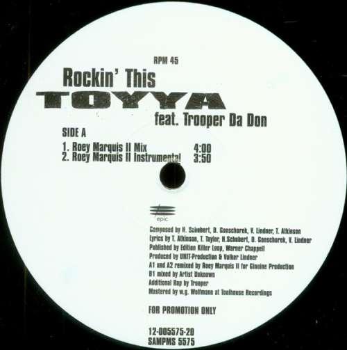 Bild Toyya - Rockin' This (12, Promo) Schallplatten Ankauf