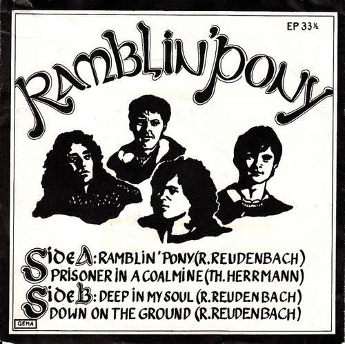 Cover Ramblin´ Pony - Ramblin´ Pony (7, EP) Schallplatten Ankauf