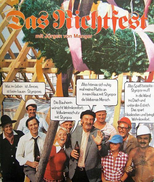 Cover Jürgen von Manger - Das Richtfest (7, Promo) Schallplatten Ankauf