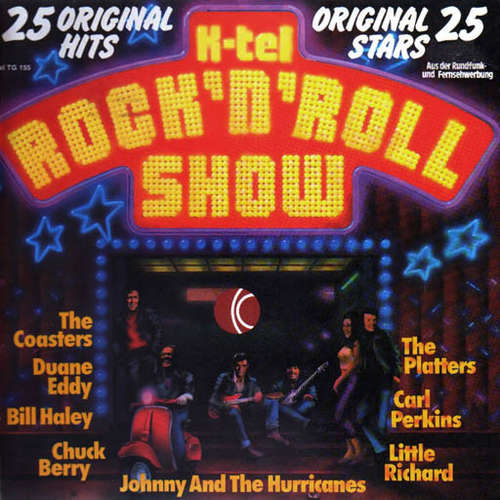 Cover Various - K-tel Rock 'n' Roll Show (LP, Comp, Mono) Schallplatten Ankauf