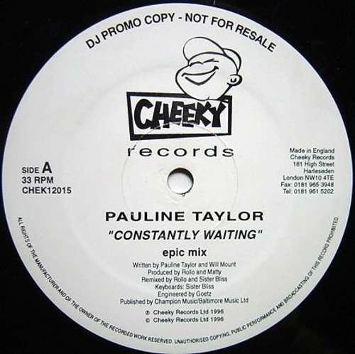 Bild Pauline Taylor - Constantly Waiting (2x12, Single, Promo) Schallplatten Ankauf