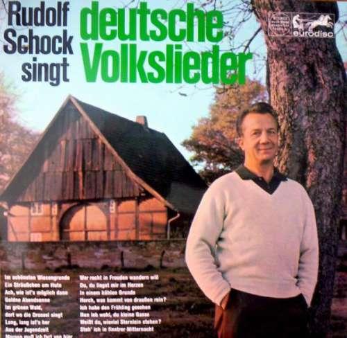 Cover zu Rudolf Schock - Rudolf Schock Singt Deutsche Volkslieder (LP, Album) Schallplatten Ankauf