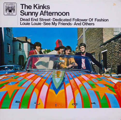 Cover The Kinks - Sunny Afternoon (LP, Comp) Schallplatten Ankauf