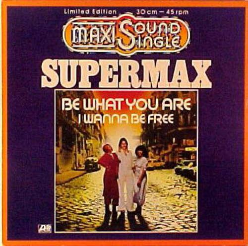 Bild Supermax - Be What You Are (12, Maxi, Ltd) Schallplatten Ankauf