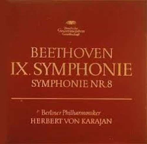 Bild Beethoven* - Berliner Philharmoniker / Herbert von Karajan - IX. Symphonie / Symphonie Nr. 8 (2xLP, Album + Box) Schallplatten Ankauf