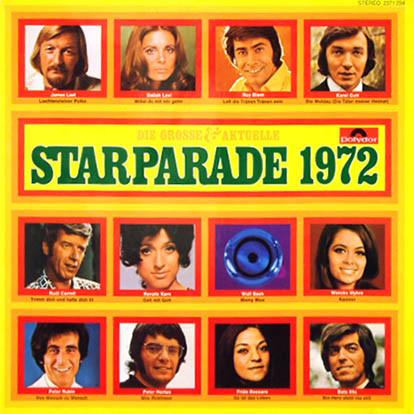 Cover Various - Die Grosse & Aktuelle Starparade 1972 (LP, Comp) Schallplatten Ankauf