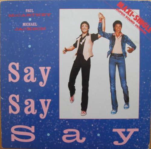 Cover Paul McCartney & Michael Jackson - Say Say Say (12, Maxi) Schallplatten Ankauf