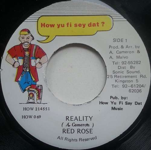 Bild Red Rose* - Reality (7) Schallplatten Ankauf