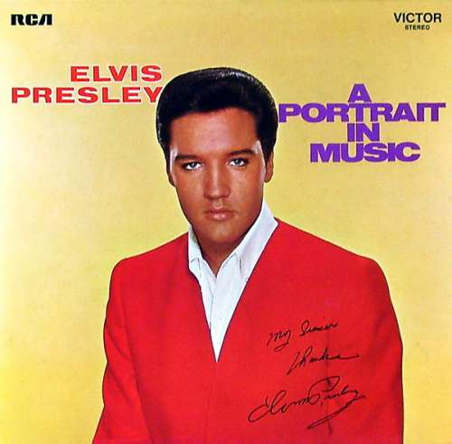 Cover Elvis Presley - A Portrait In Music (LP, Comp, RE) Schallplatten Ankauf