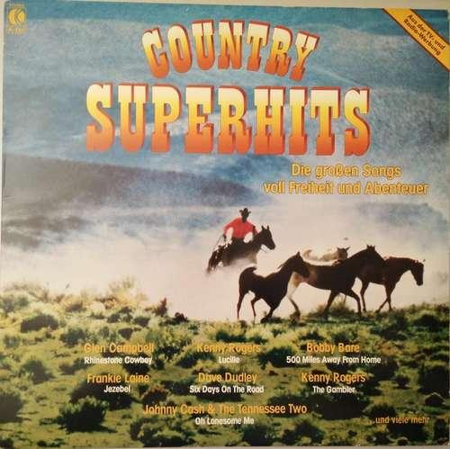 Cover zu Various - Country Superhits - Die Großen Songs Voll Freiheit Und Abenteuer (LP, Comp) Schallplatten Ankauf