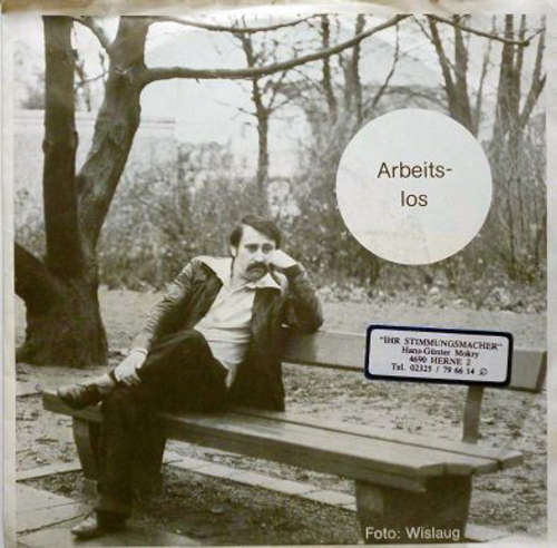 Cover zu Gunter Molien - Arbeitslos (7, Single) Schallplatten Ankauf