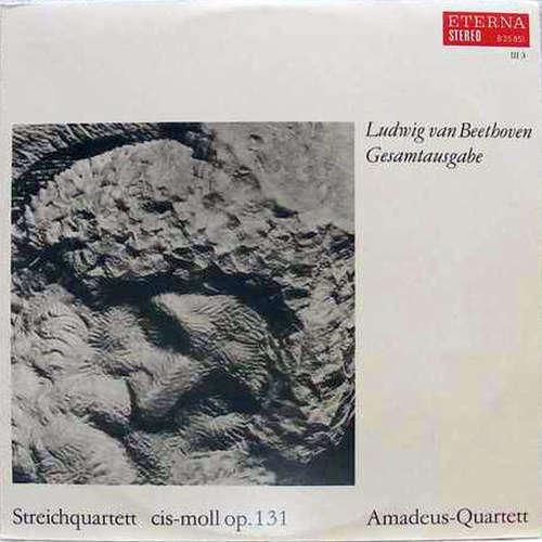 Cover zu Ludwig Van Beethoven, Amadeus-Quartett - Streichquartett Cis-moll Op. 131 (LP) Schallplatten Ankauf