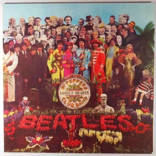 Cover Beatles, The - Sgt. Pepper's Lonely Hearts Club Band (LP, Album, RE) Schallplatten Ankauf