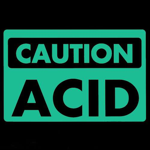 Cover zu 100% Acidiferous - Droid Sector / Annihilate (10) Schallplatten Ankauf
