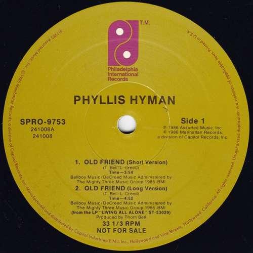 Bild Phyllis Hyman - Old Friend (12, Promo) Schallplatten Ankauf