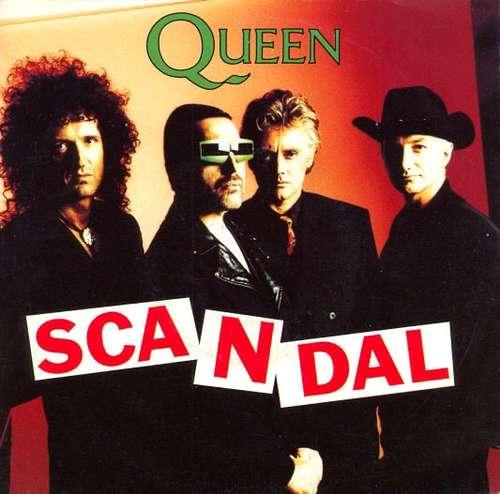Cover Queen - Scandal (7, Single) Schallplatten Ankauf