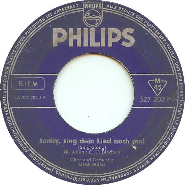 Bild Chor Und Orchester Mitch Miller* / Jimmy Dean - Jonny, Sing Dein Lied Noch Mal (Sing Along) / Sing Along (7) Schallplatten Ankauf