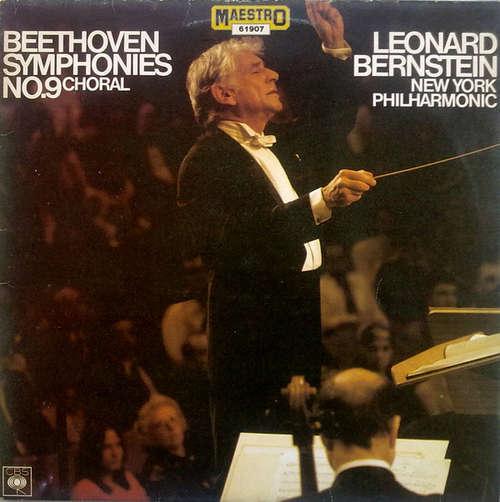 Bild Leonard Bernstein, New York Philharmonic*, Ludwig van Beethoven - Beethoven Symphonies No.9 - Choral (LP, Album) Schallplatten Ankauf