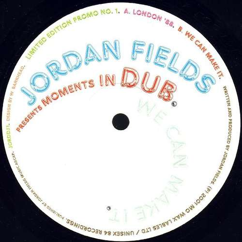 Bild Jordan Fields - Moments In Dub (12, Ltd, Promo) Schallplatten Ankauf