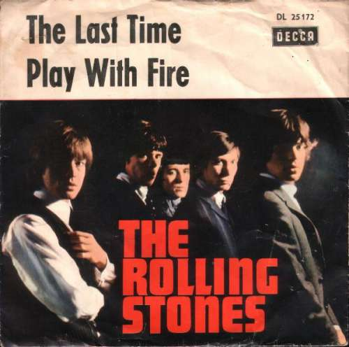 Cover The Rolling Stones - The Last Time / Play With Fire (7, Single) Schallplatten Ankauf