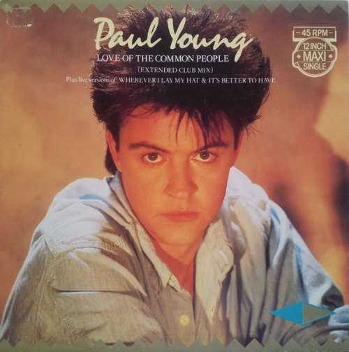 Bild Paul Young - Love Of The Common People (Extended Club Mix) (12, Maxi) Schallplatten Ankauf