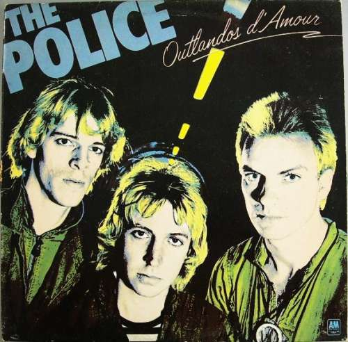 Cover The Police - Outlandos D'Amour (LP, Album) Schallplatten Ankauf