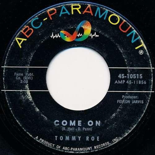 Bild Tommy Roe - Come On (7) Schallplatten Ankauf
