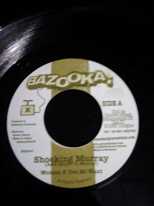 Cover zu Shocking Murray - Woman A You Mi Want (7) Schallplatten Ankauf