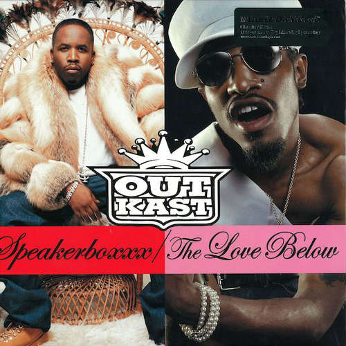 Cover OutKast - Speakerboxxx / The Love Below (4xLP, Album, RE, 180) Schallplatten Ankauf