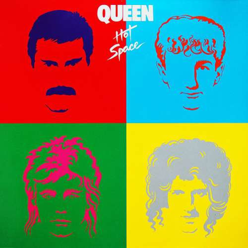 Cover Queen - Hot Space (LP, Album) Schallplatten Ankauf