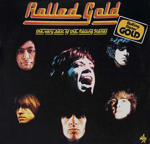 Cover zu The Rolling Stones - Rolled Gold (The Very Best Of The Rolling Stones) (2xLP, Comp, RP, Gat) Schallplatten Ankauf
