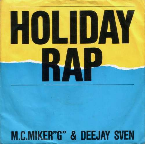 Cover zu M.C.MikerG & Deejay Sven* - Holiday Rap (7, Single) Schallplatten Ankauf