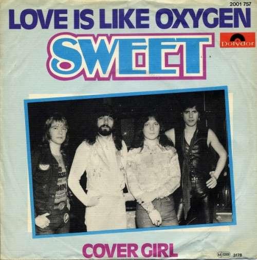 Bild Sweet* - Love Is Like Oxygen (7, Single) Schallplatten Ankauf
