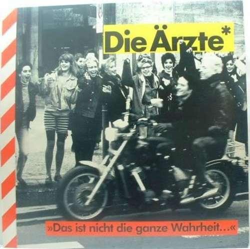 Cover Die Ärzte** - Das Ist Nicht Die Ganze Wahrheit... (LP, Album) Schallplatten Ankauf