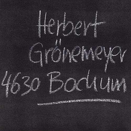Bild Herbert Grönemeyer - 4630 Bochum (LP, Album, Club) Schallplatten Ankauf