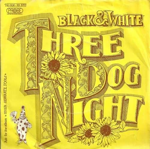 Bild Three Dog Night - Black & White (7, Single) Schallplatten Ankauf
