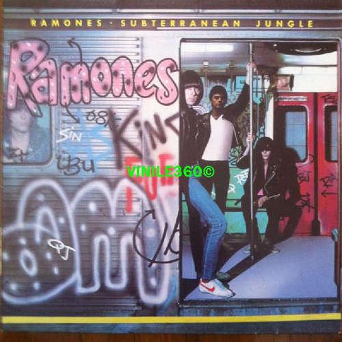 Cover Ramones - Subterranean Jungle (LP, Album, RE) Schallplatten Ankauf
