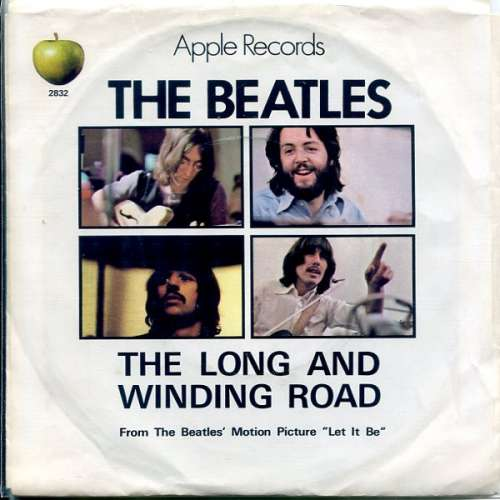 Cover The Beatles - The Long And Winding Road (7, Single, Pic) Schallplatten Ankauf