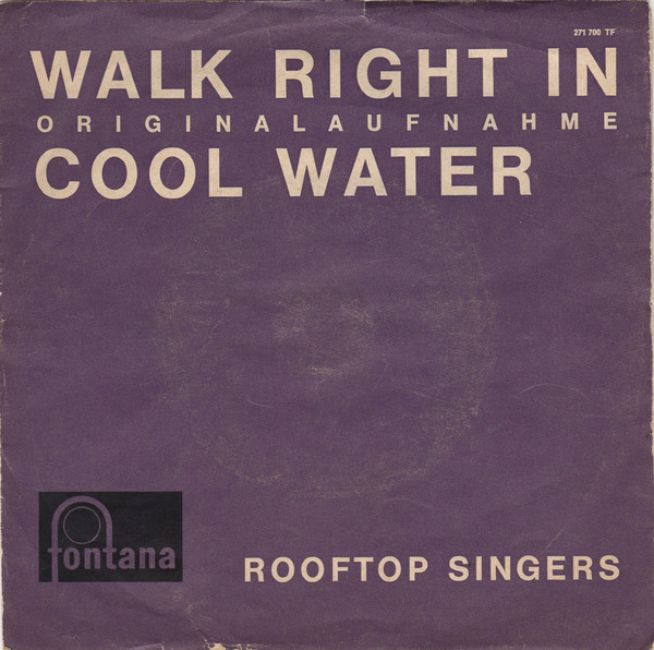 Bild The Rooftop Singers - Walk Right In (7, Mono) Schallplatten Ankauf