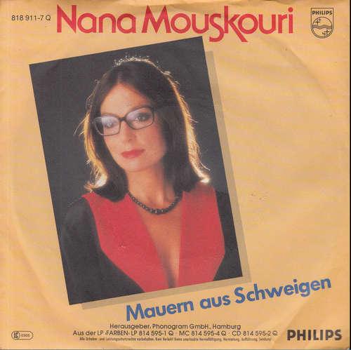Bild Nana Mouskouri - Mauern Aus Schweigen (7, Single) Schallplatten Ankauf
